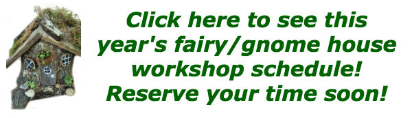 country corner :: Fairy/Gnome House Workshops!